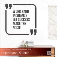 Wall Stiker Work Motivasi Quote Sticker Dinding Quotes Kantor Office
