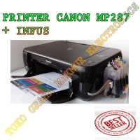 PRINTER CANON MP287 + INFUS PROMOOO!!!!