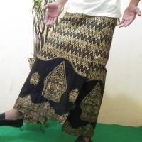 celana sarung batik wayang gold