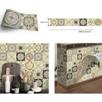 wallpaper lantai / flooring kode WL005 tegel A