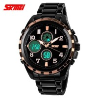 Jam Tangan Pria Digital Original Dual Time SKMEI 1021 Water Resist Ant