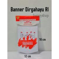 Banner Dirgahayu RI, Bunting Flag HUT RI