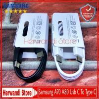 Kabel Data Samsung A70 A80 Original 100% Fast Charging Type C 25Watt