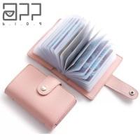 Femme Leather Wallet Credit Card Holder Dompet Kartu Kredit