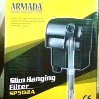 filter hang on Armada Sp 502
