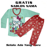 BAJU HELLO KITTY UKURAN NO 22, 24, 26 BUAT 8-10TH