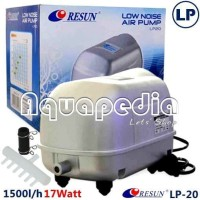Resun LP20 Pompa Udara Aerator Low Noise Air Pump Blower