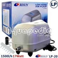RESUN LP-20 Pompa Udara Aerator Low Noise Air Pump Blower