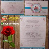 Undangan Pernikahan Blanko murah A88193