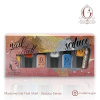 Madame Gie Nail Shell Peel Of Seduce Series 1set (isi 6botol)