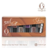 Madame Gie Nail Shell Peel Of Skin Series 1set (isi 6 botol)