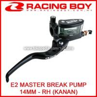 RCB Master Rem E2 Handle Kanan 14mm Atas Depan Universal Racing Boy RH