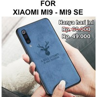Case Xiaomi Mi9 - Mi9 SE softcase casing back cover levis jeans DEER
