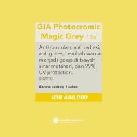 Lensa Kacamata Minus Plus Silinder - Photocromic - Gia by Essilor