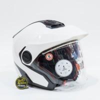 Helm Nolan N40.5 Classic Ncom - Metal White