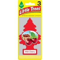 pewangi mobil little trees wild cherry