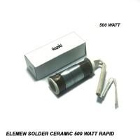 Elemen Solder Ceramic 500 Watt Rapid B10 Jl1433