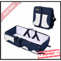 Multifunctional Baby Travel Bed and Diaper Bag Tas bayi (WRF10)