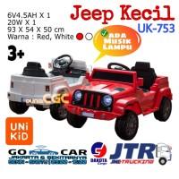 Unikid UK753 Mainan Mobil Aki Jeep Mini Musik Lampu SNI