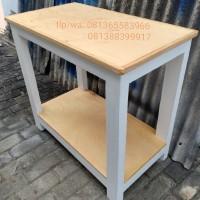 rak tv/rak/meja tingkat/meja/meja rak/meja susun 2/meja kayu/furniture