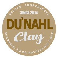 DUNAHL DU'NAHL Hair Clay Pomade Natural Organic Beeswax Matte