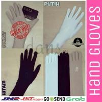 Sarung Tangan Muslimah Hand Gloves Spandex Grosir Murah - Cream