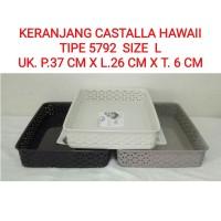 Keranjang Hawai L 5792/Castalla/ Baki/Nampan/Basket/Wadah Parcel