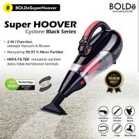 Vacuum Cleaner BOLDe Super Hoover Cyclone Black Series