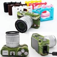 Silicone Case Fujifilm X-A5 Silikon Fuji XA5 Tas Casing Fujifilm XA 5