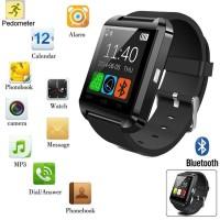 U8-1 Smart Watch Bluetooth HP Kamera untuk Android&IOS Iphone Samsung