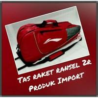 TAS RAKET RANSEL 2R BATMINTON KUALITAS ORIGINAL