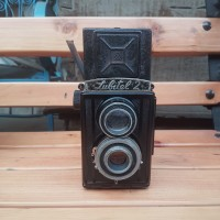 lomo lubitel 2 tlr camera rare version with black lenses kamera antik