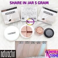 Naturactor Foundation Share in Jar 5gr - Satu Tiga Nol