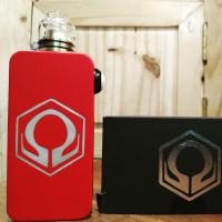 Hexohm RED POWDERCOAT Mod Only VapeZoo ( Bonus Batrei AWT Sepasang )