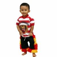Setelan Kaos Reog Anak (Size 4, 5 dan 6)