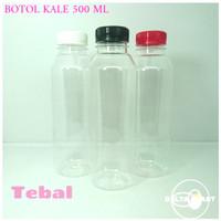 botol kale 500 ml / botol plastik 500 ml super tebal