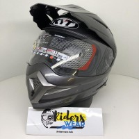 KYT - Enduro R solid - double Visor helmet helm Full Face