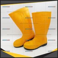 diskon Ergos Steel Sepatu Toe Baja PVC Ujung Safety Boot Besi sandal