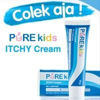 Pure Baby Purekids Itchy Cream Krim Salep Gatal Untuk Anak 10Gram