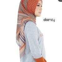 Deenay Hijab Bueno Teracotta Kerudung Jilbab Deenay Bueno Teracotta