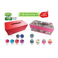 Tissue Box Vinil * Tempat Tissu # Wadah Tisue tissubox kulit sintesis