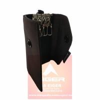 Gantungan Kunci EIGER 910003341 002 Aztec Trifold Key Wallet Brown