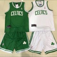 Setelan Jersey Baju Basket Anak NBA GO GRADE ORI Celtics celtic