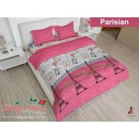 WW Bed Cover Lady Rose 180 PARISIAN 180x200 King Size paris pink