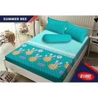 WW Sprei Kintakun 180 SUMMER BEE 180x200 King Size Kids anak remaja