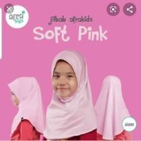 "Jilbab anak instant Soft Pink"" JA 009 by Afrakids"