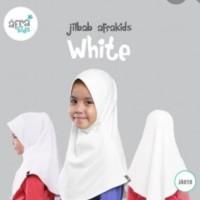 Jilbab Anak Instant  White/Putih JA 018 by Afrakids