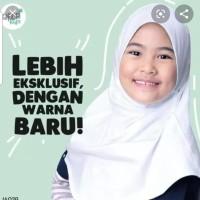 "Jilbab Anak Instant JA029 White"" by Afrakids"