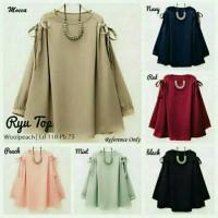 Baju atasan blouse / blus wanita muslim simple top