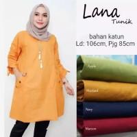 Baju muslim wanita Tunik katun Luna Premium